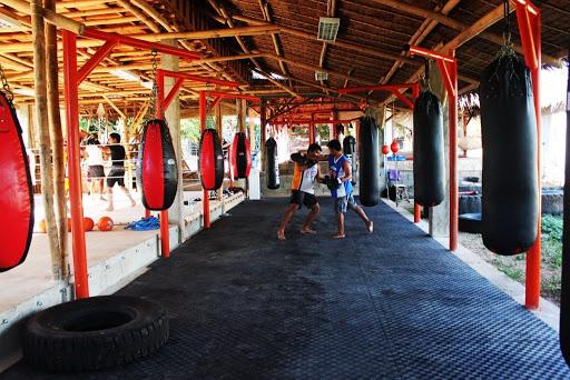 muay thai gym thailand
